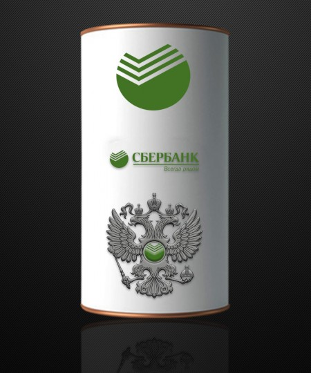 "МАТРЕШКА - ШТОФ "" СБЕРБАНК"" 500 ml"