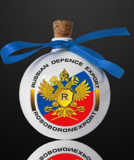 НОВОГОДНИЙ ШАР - ШТОФ 250 ml